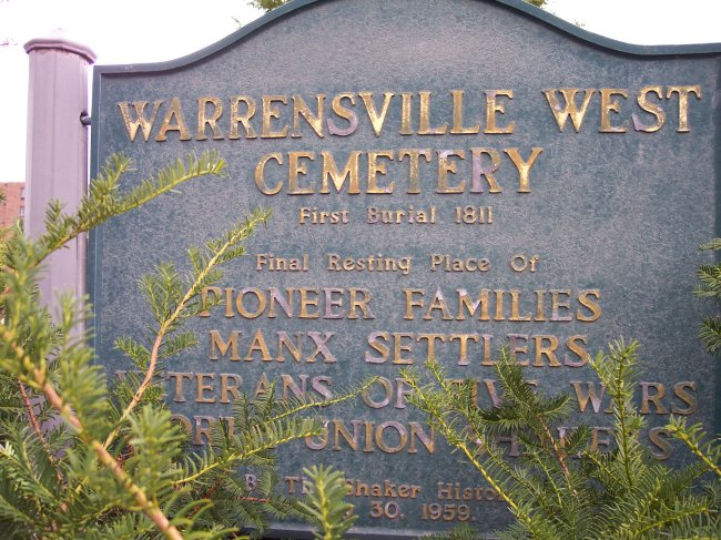 Warrensville West Cemetery