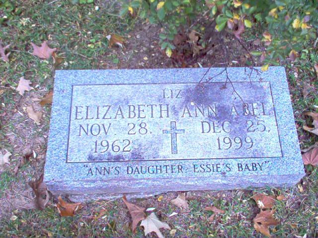 Elizabeth Ann Liz Abel