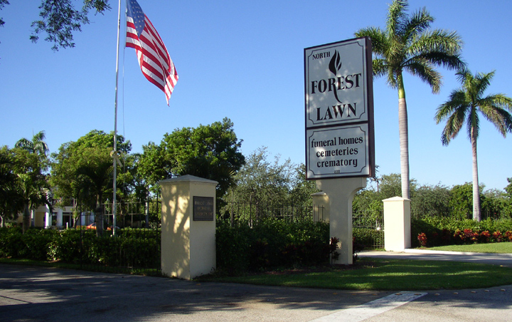 View Original Main Entrance On Copans Road Pompano Beach Florida
