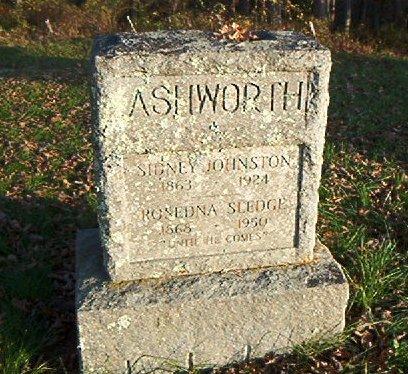 Sidney Johnston Ashworth