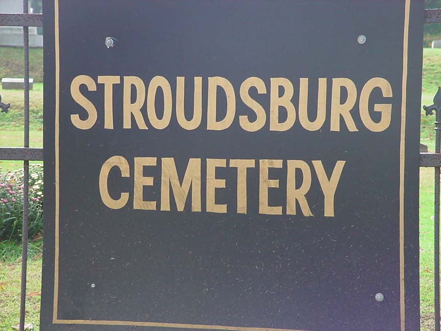 Stroudsburg Cemetery