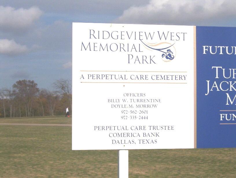 Ridgeview West Memorial Park