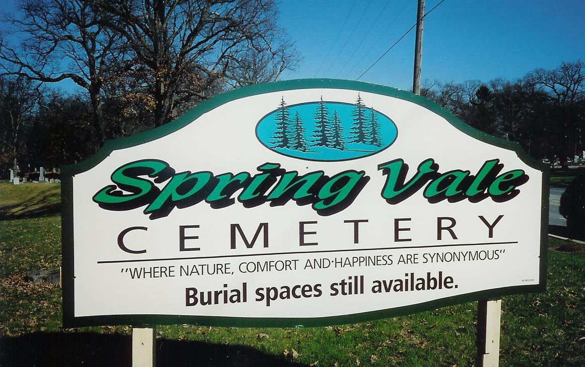 Spring Vale Cemetery