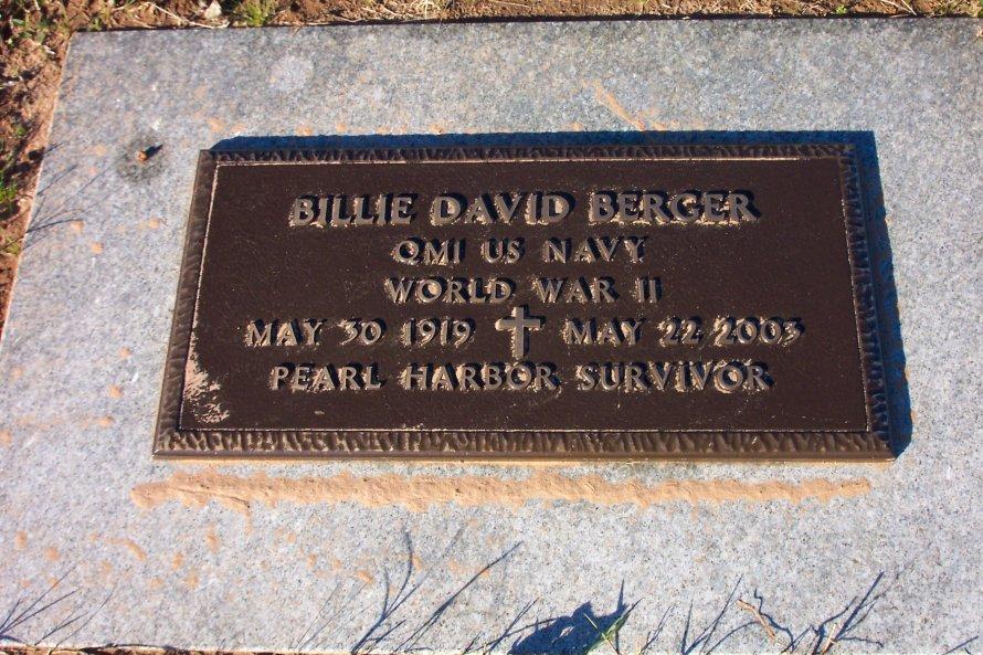 Billie David Berger