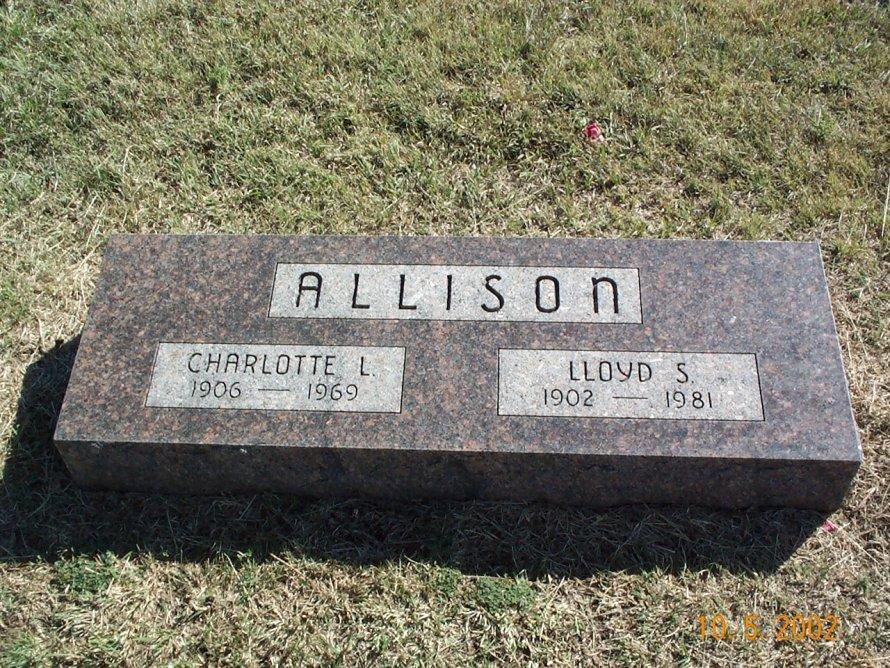 Charlotte Louise <i>Edwards</i> Allison