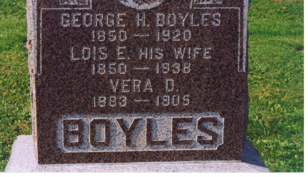 Louisa Euphemia Lois <i>Wood</i> Boyles