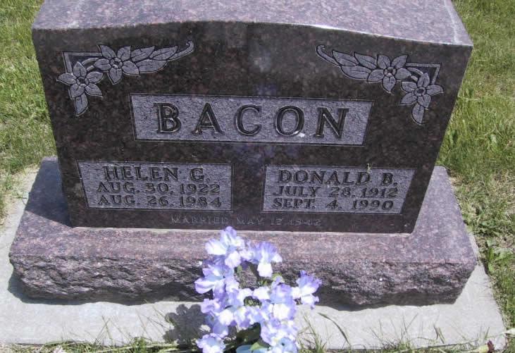 Donald B Bacon