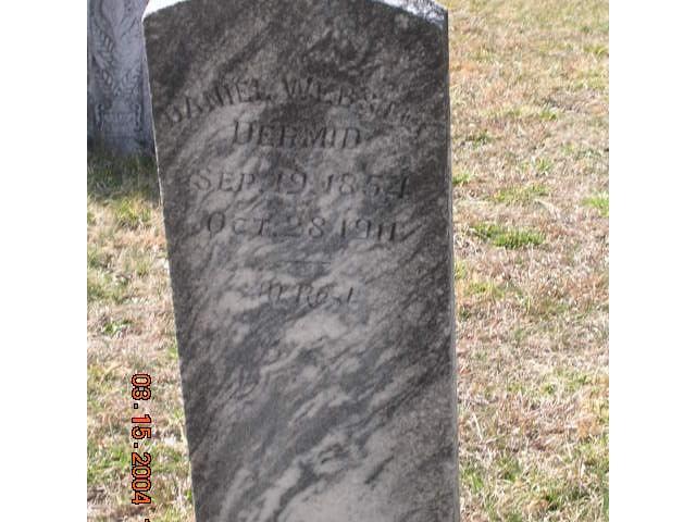 Daniel Webster Dermid