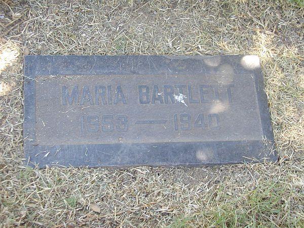 Maria <i>Dawson</i> Bartlett