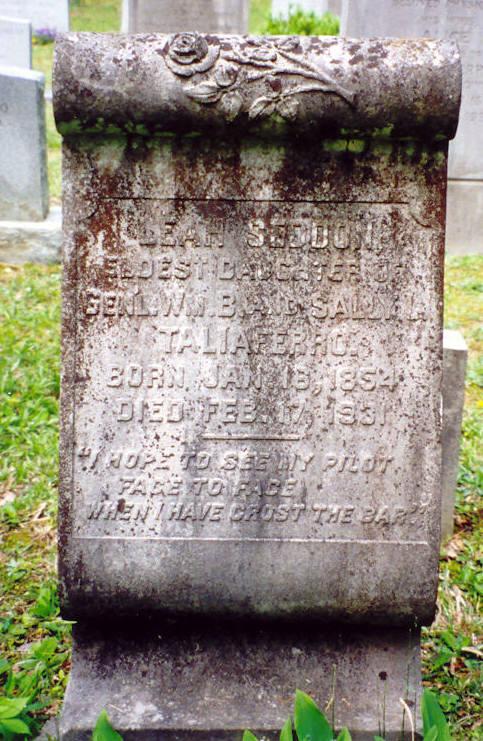 Leah Seddon Taliaferro