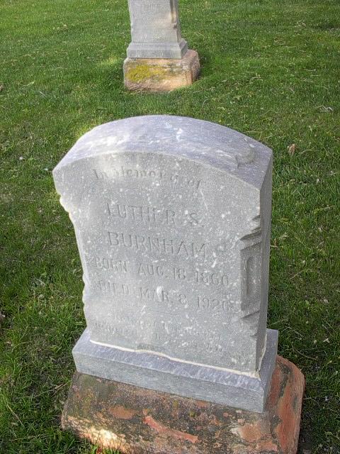 Luther S Burnham