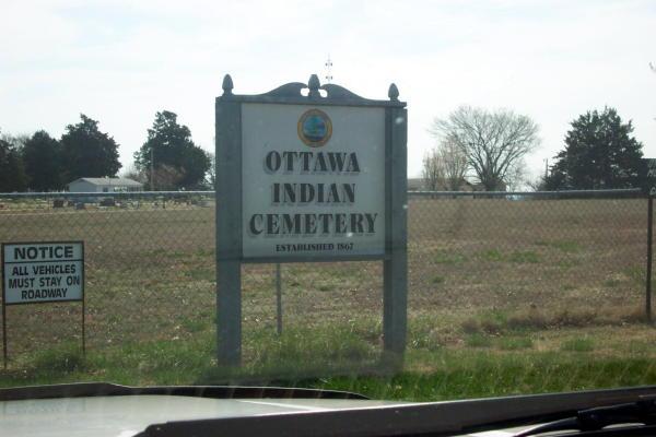 Ottawa Indian Cemetery