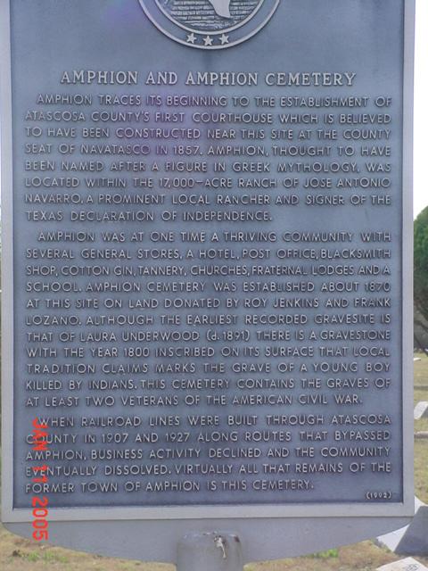 Amphion Cemetery