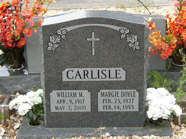 Margaret Ann Margie <i>Doyle</i> Carlisle