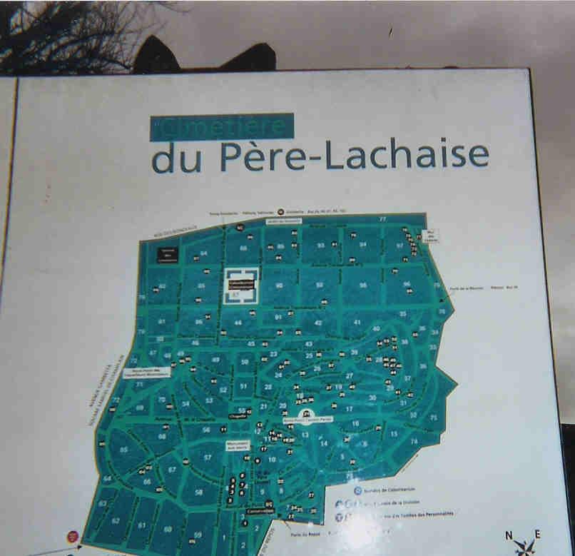 Souvent Cimetière du Père Lachaise in Paris, Île-de-France - Find A Grave  TW27