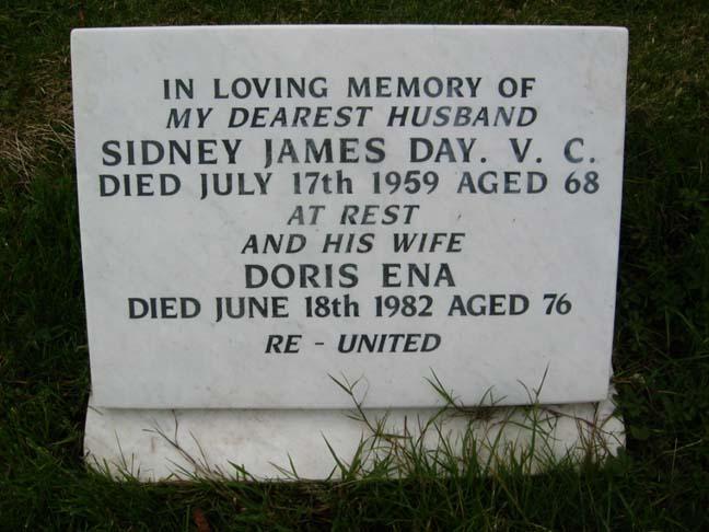 Sidney James Day