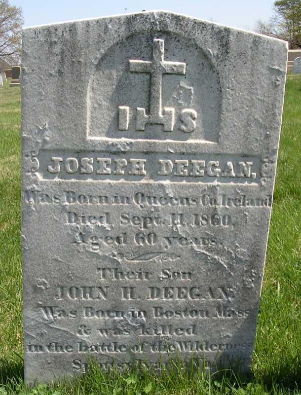 Pvt John H. Deegan