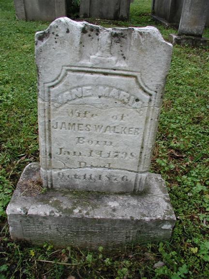 Jane Maria <i>Polk</i> Walker