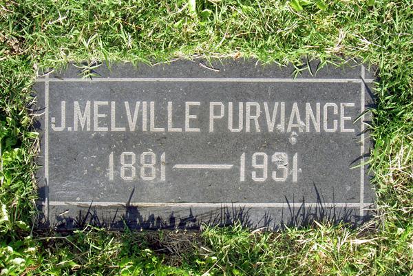 Joseph Melville Mel Purviance