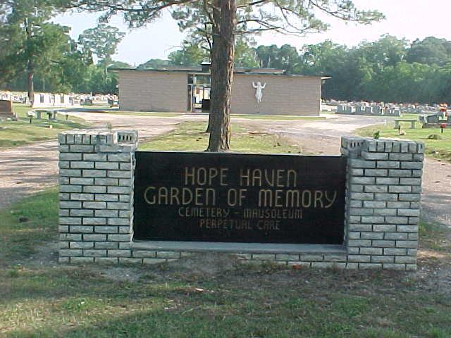 Hope Haven Garden of Memory