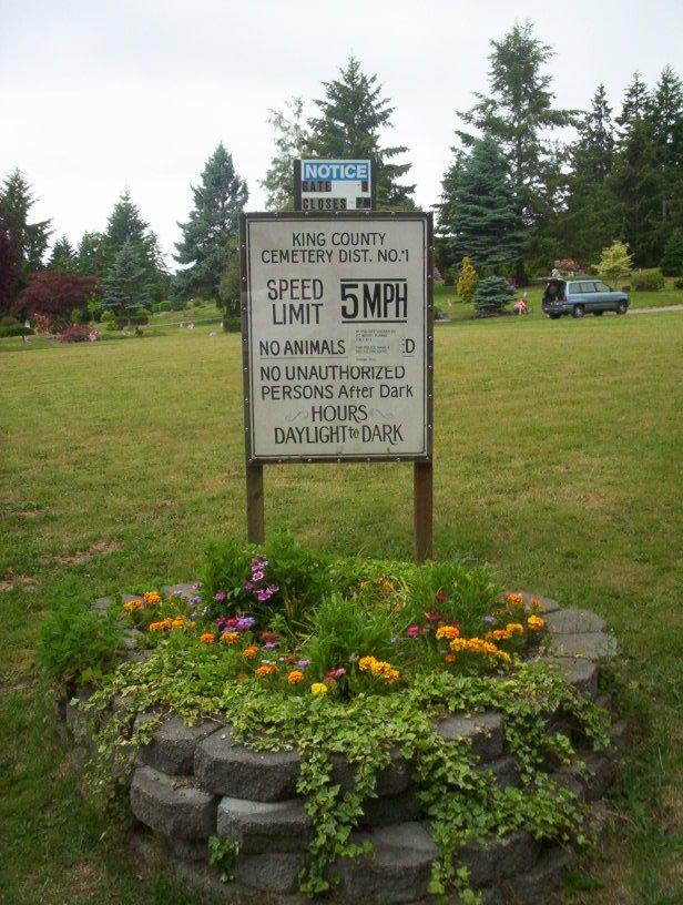 Vashon Island Cemetery