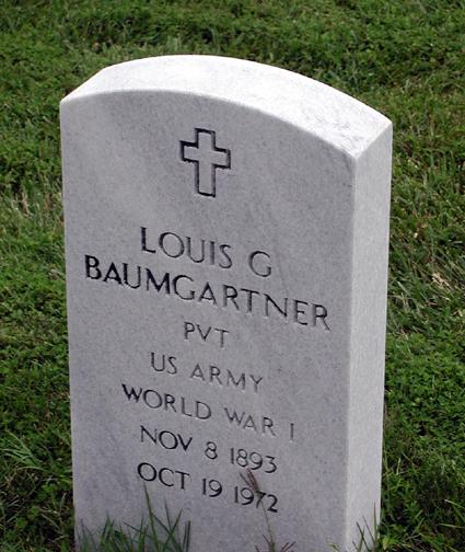 Louis G Baumgartner
