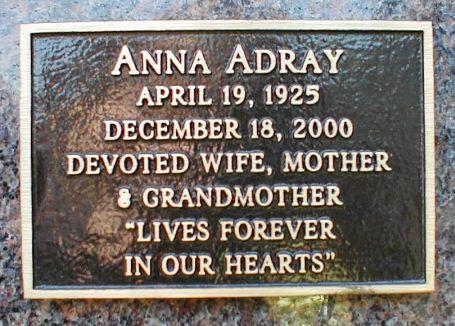 Anna Adray