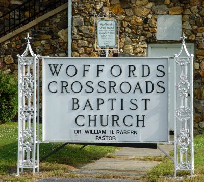 Wofford Crossroads Baptist Church Cemetery