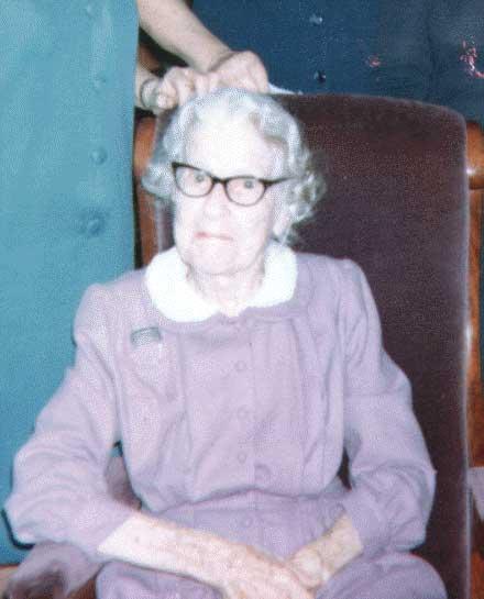 Annie Elizabeth <i>Bower</i> Pitzer
