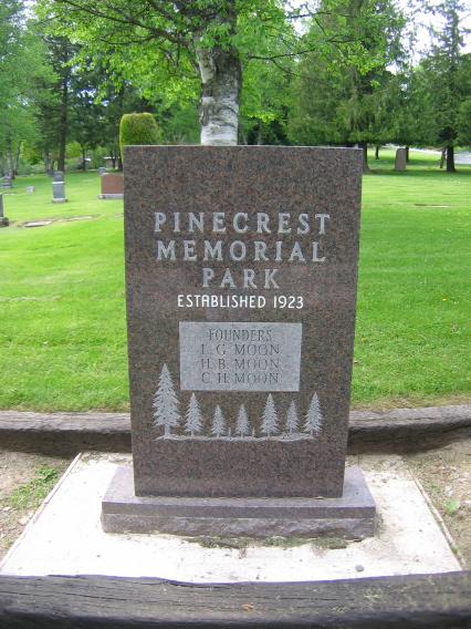 Pinecrest Memorial Park