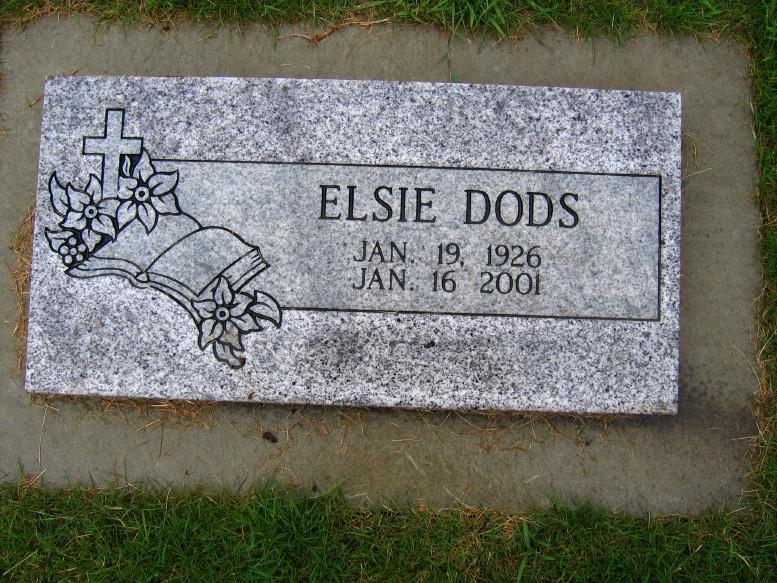 Elsie Lee <i>Billups</i> Dods
