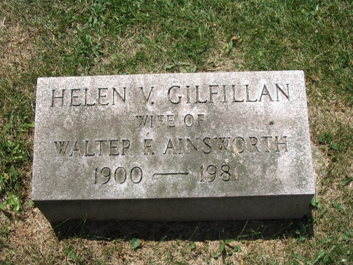 Helen V. <i>Gilfillan</i> Ainsworth