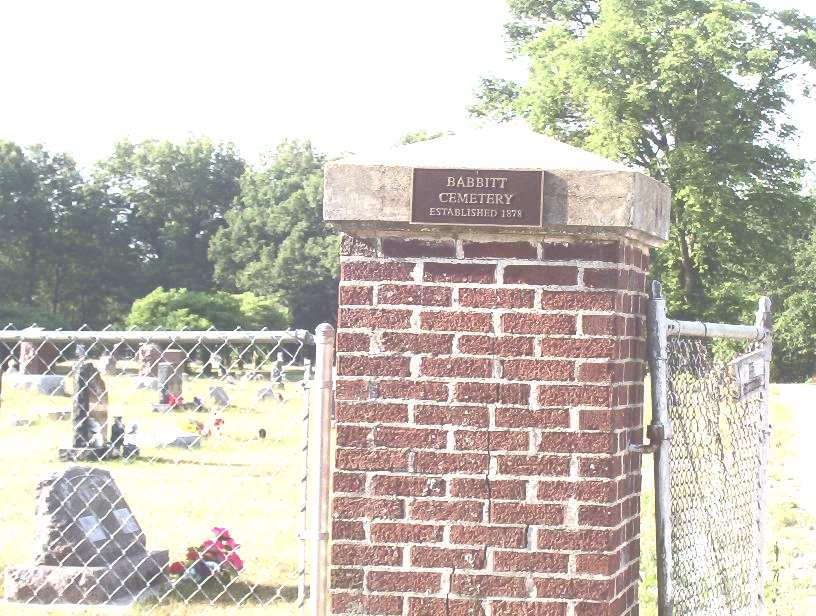 Babbitt Cemetery