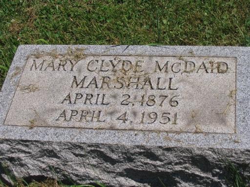 Mary Clyde <i>McDaid</i> Marshall