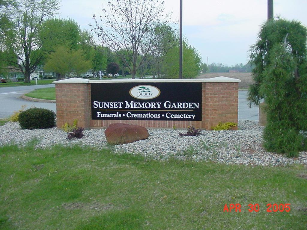 Sunset Memory Garden