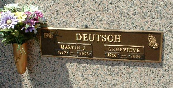 Genevieve <i>Rothermel</i> Deutsch