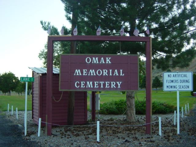 Omak Memorial Cemetery