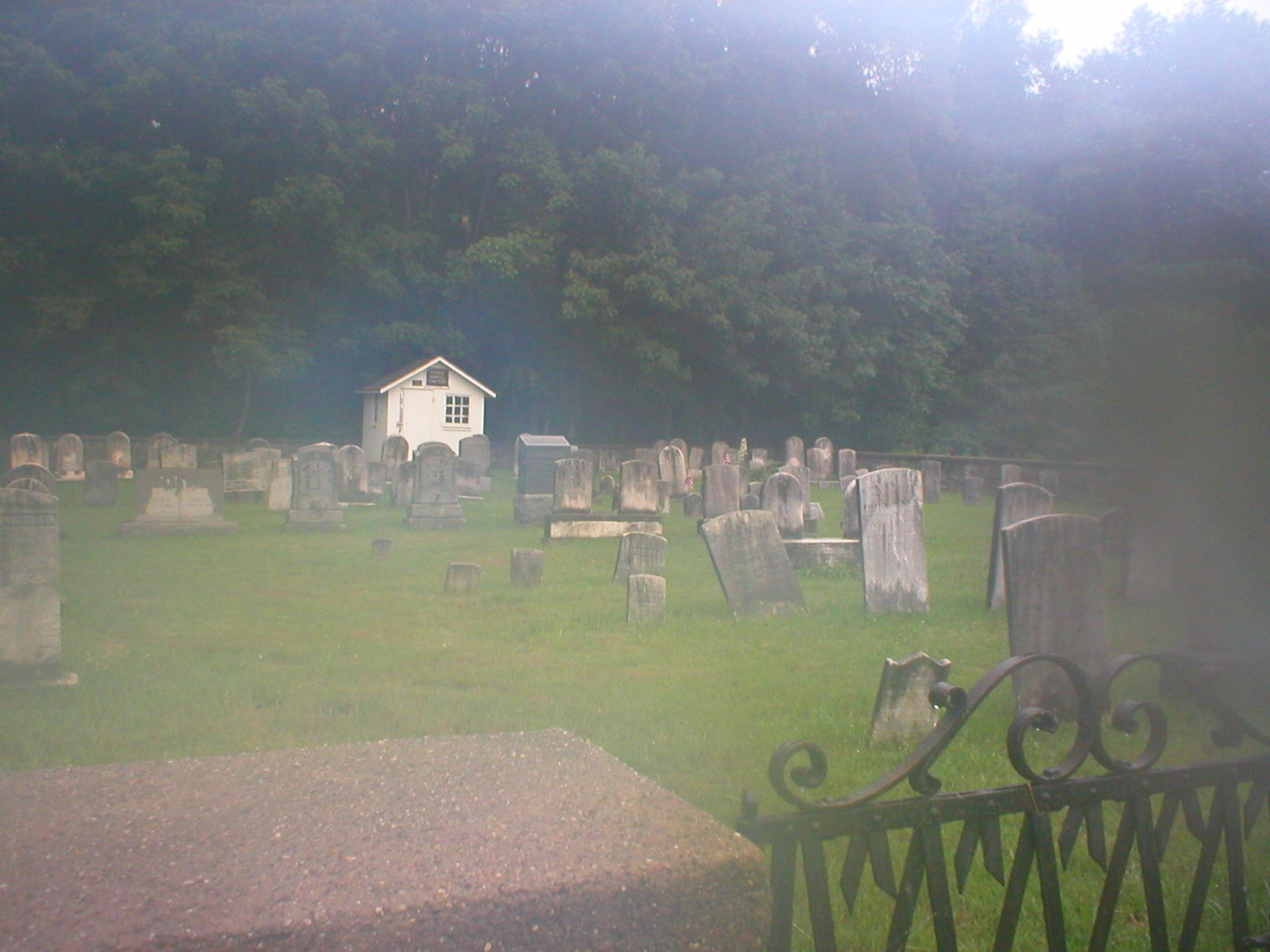 Lower Amwell Cemetery - Old Yard