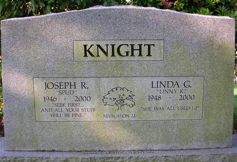 Linda G <i>Thoemke</i> Knight