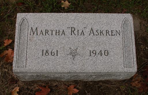 Martha Maria <i>VanSickle</i> Askren