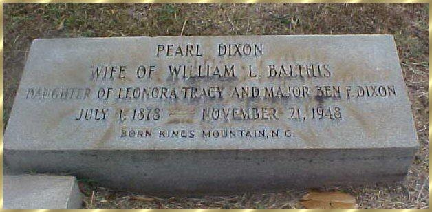 Pearl <i>Dixon</i> Balthis