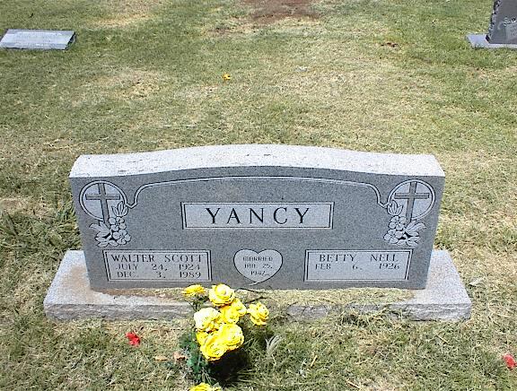 Walter Scott Yancy
