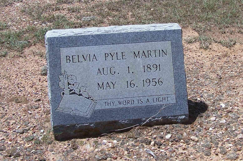 Belvia <i>Pyle</i> Martin