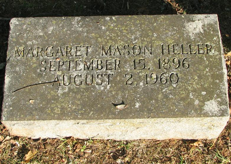 Margaret Maggie <i>Mason</i> Heller