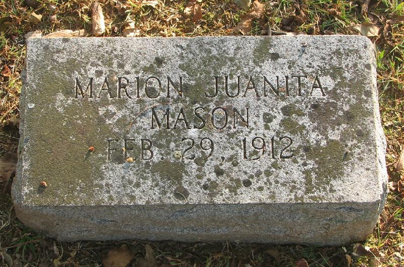 Marion Juanita Mason