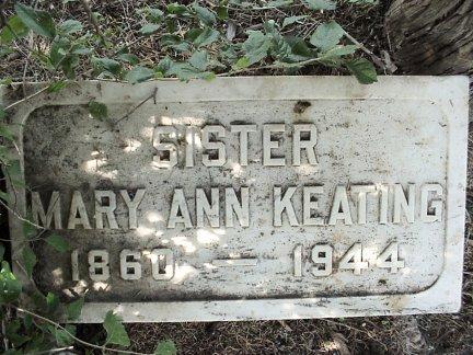 Sr Mary Ann Keating