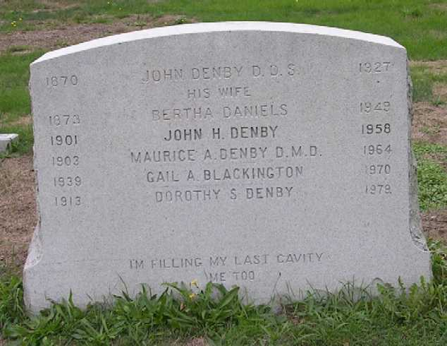 Dr Maurice A. Denby