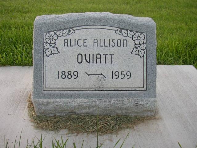 Isabelle Alice <i>Edgington Allison</i> Oviatt