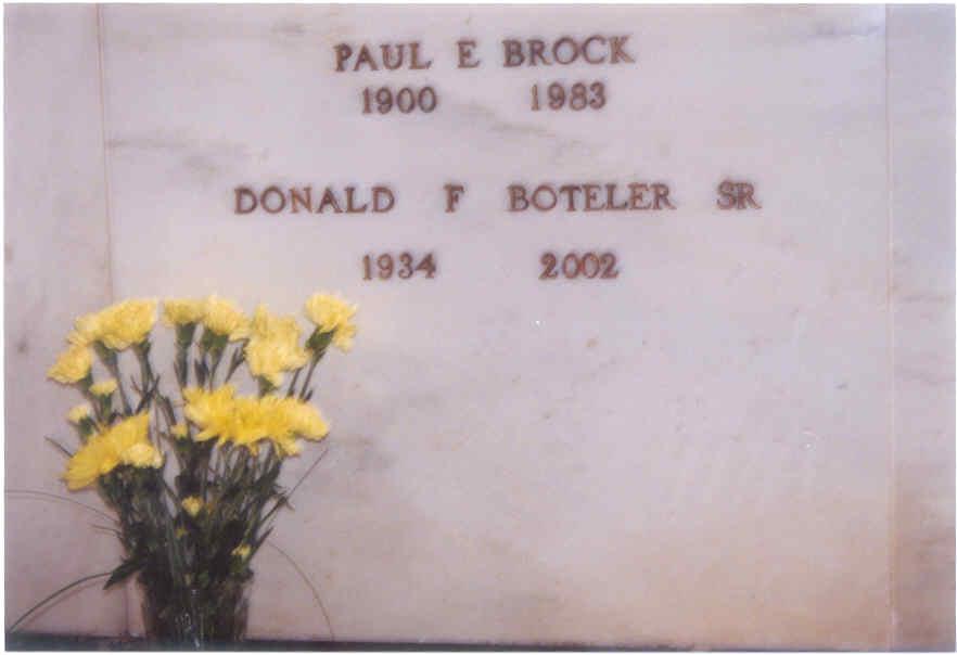 Donald Frederick Don Boteler, Sr