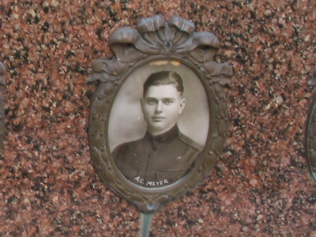 Pvt Alfred Clement Meyer